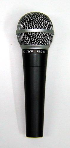 מיקרופון מקצועי לשירה Protech 58A