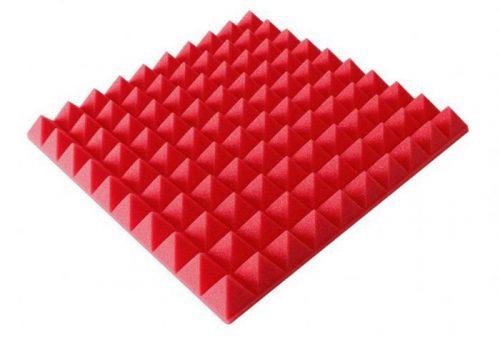 ספוג אקוסטי צבע אדום 50×50