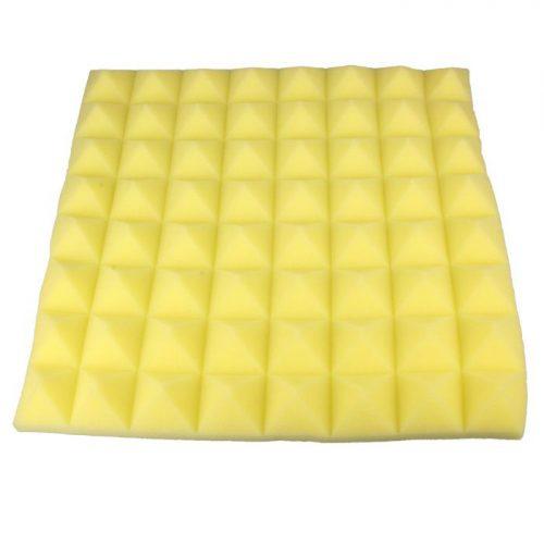 ספוג אקוסטי צבע צהוב 50×50