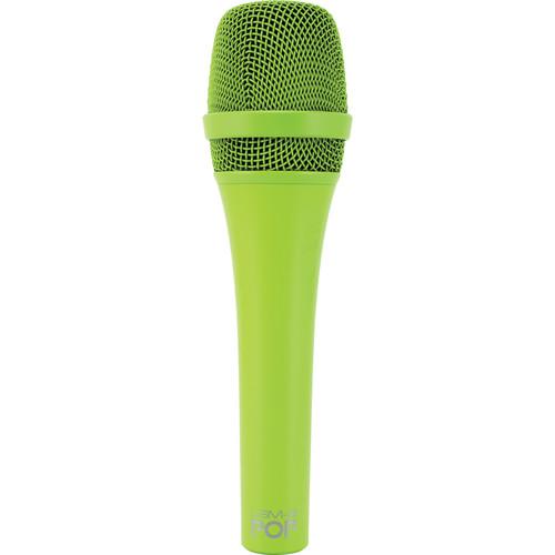 MXL POP LSM-9 מיקרופון פרימיום דינמי לשירה בצבע ירוק