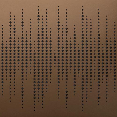 סט 8 יחידות לוח אקוסטי Artnovion Athos W צבע Bronze