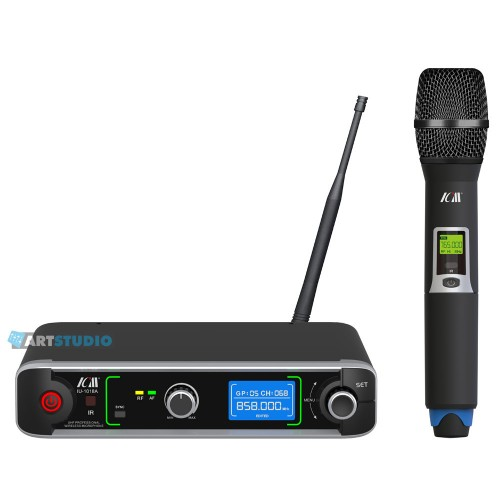 מיקרופון אלחוטי תדר משתנה ICM IU-2065-1018