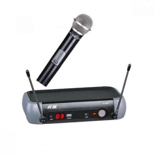 מיקרופון אלחוטי עם תדר משתנה ICM IU-1008