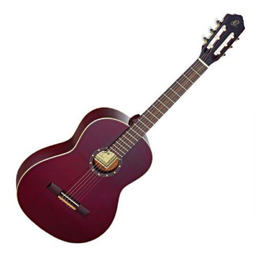 גיטרה קלאסית בצבע אדום יין Ortega R121