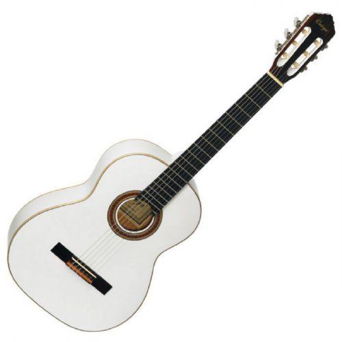 גיטרה קלאסית בצבע לבן Ortega R121WH