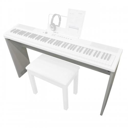 סטנד עץ לפסנתר בצבע לבן Artesia ST-1WHT