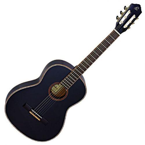 גיטרה קלאסית בצבע שחור Ortega R221