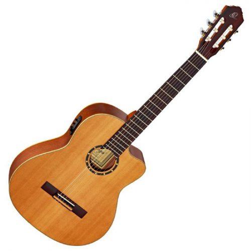 גיטרה קלאסית מוגברת Ortega RCE131