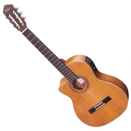 גיטרה קלאסית מוגברת שמאלית Ortega RCE131L
