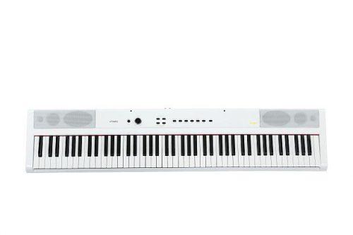 פסנתר חשמלי 88 קלידים בצבע לבן Artesia PA88WHT