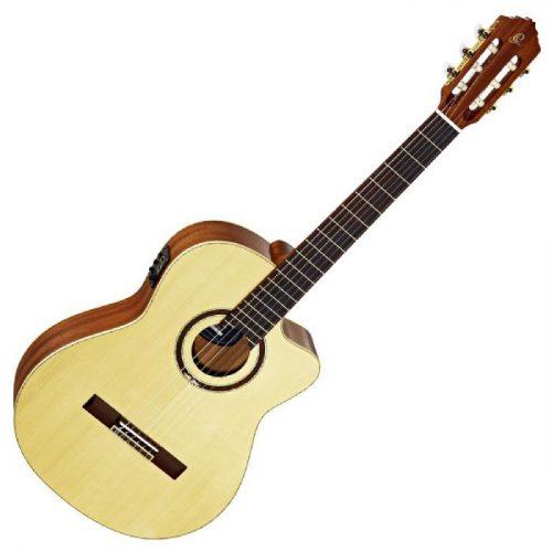 גיטרה קלאסית מוגברת Ortega RCE138SN