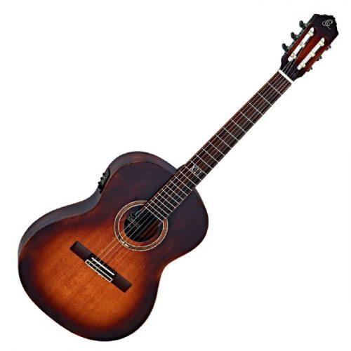 גיטרה קלאסית מוגברת Ortega DSSUITE-E