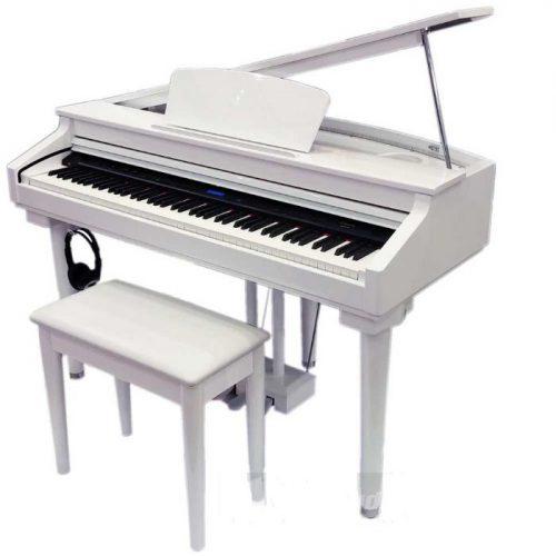 פסנתר כנף חשמלי בצבע לבן Ringway GDP6320 WH