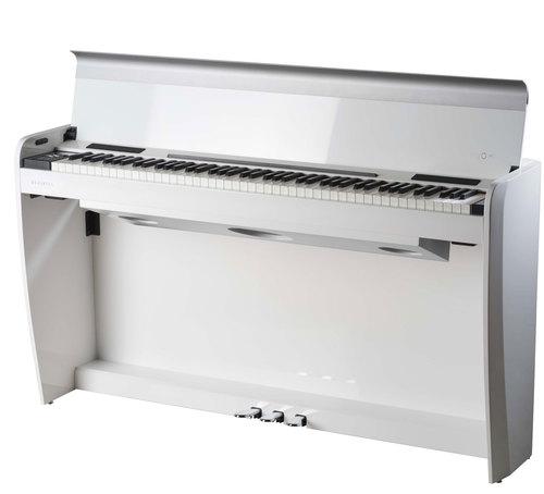 פסנתר חשמלי רהיט בצבע לבן בגימור מבריק Dexibell VIVOH7WHP