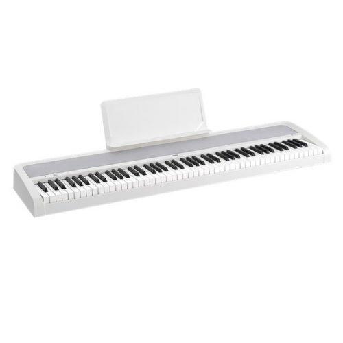 פסנתר חשמלי בצבע לבן Korg B1