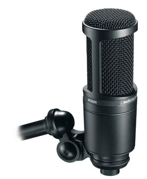 מיקרופון קונדנסר Audio Technica AT2020