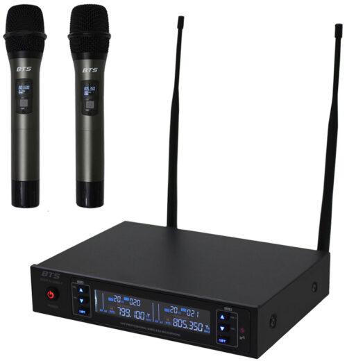 זוג מיקרופונים אלחוטיים BTS IU-2065-7
