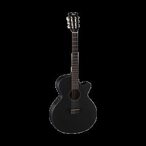 גיטרה קלאסית מוגברת Cort CEC-3BKS