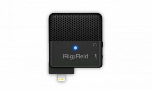 מיקרופון סטריאפוני נייד iRig Mic Field למכשירי אפל מבית IK Multimedia
