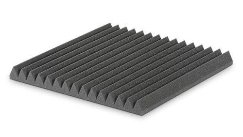 ספוג אקוסטי אפור בצורת זיגזג EZ Foam Wedges 5 מבית EZ Acoustics