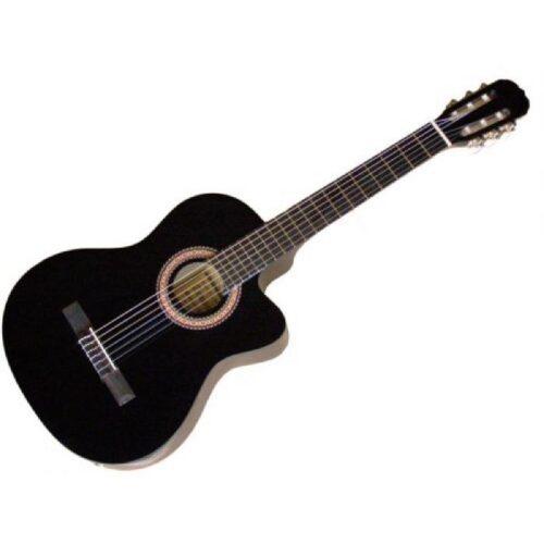 גיטרה קלאסית מוגברת Armando SunBurst