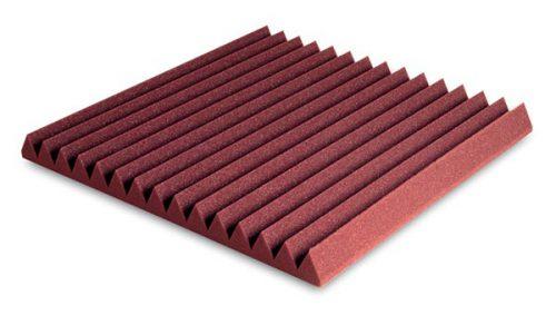 ספוג אקוסטי בצורת זיגזג EZ Foam Wedges 5 Garnet מבית EZ Acoustics