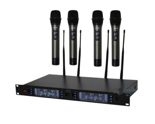 סט של 4 מיקרופונים אלחוטיים BTS IU-2065-S4