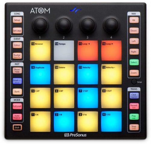 משטח שליטה נייד ATOM PreSonus