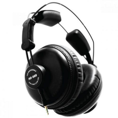 אוזניות אולפניות סגורות Superlux HD669
