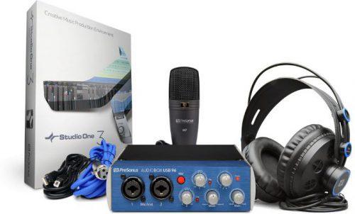 ערכת אולפן AudioBox 96 Studio PreSonus