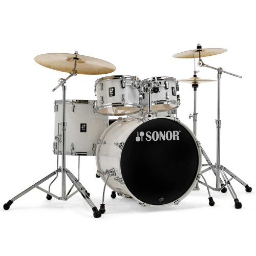 מערכת תופים Sonor AQ1 Stage WHT