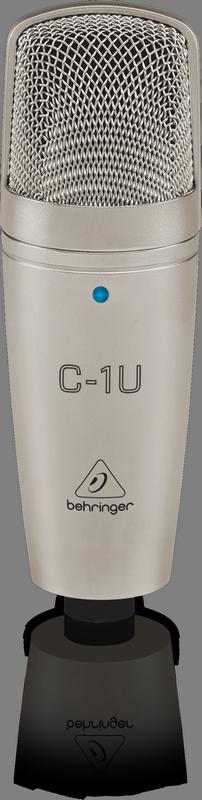 מיקרופון קונדנסר אולפני בחיבור Behringer C-1U USB