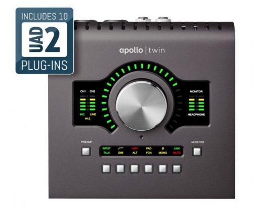 כרטיס קול Universal Audio APOLLO TWIN QUAD MKII