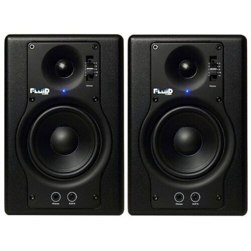 זוג מוניטורים אולפניים Fluid Audio F4