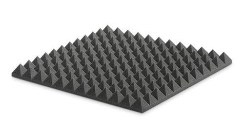 ספוג אקוסטי אפור פירמידות EZ Foam Pyramidal 5 מבית EZ Acoustics