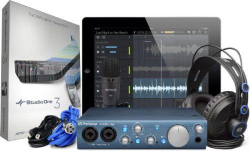 חבילת אולפן AudioBox iTwo Studio PreSonus