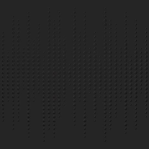 סט 8 יחידות לוח אקוסטי Artnovion Athos W צבע Graphite Black