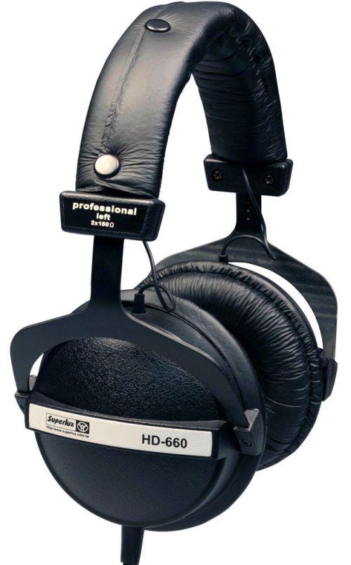 אוזניות אולפן סגורות Superlux HD660