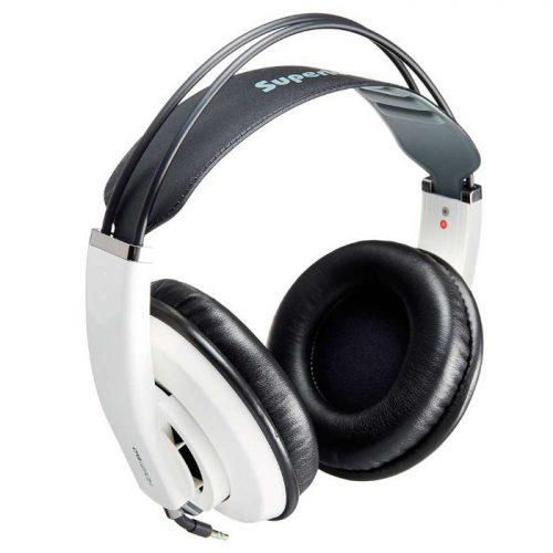 אוזניות אולפניות חצי פתוחות Superlux HD-681 Evo WHT