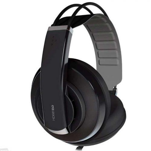אוזניות אולפניות חצי פתוחות Superlux HD-681 Evo BLC