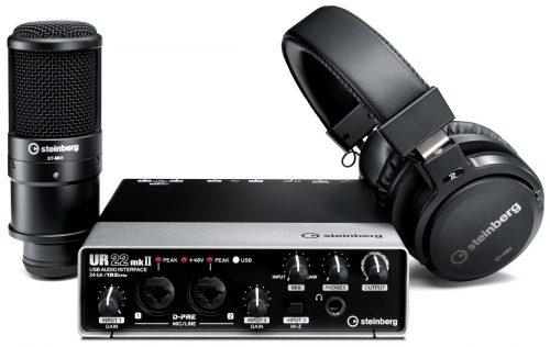 חבילת אולפן Steinberg UR22mkII Recording Pack