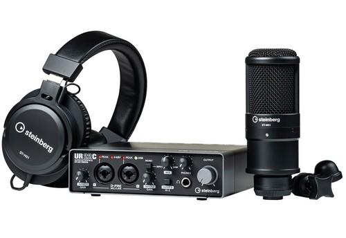 חבילת הקלטה Steinberg UR22C Recording Pack