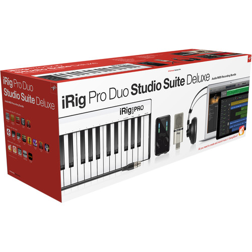 ערכת אולפן IK Multimedia iRig Pro Duo Studio Suite