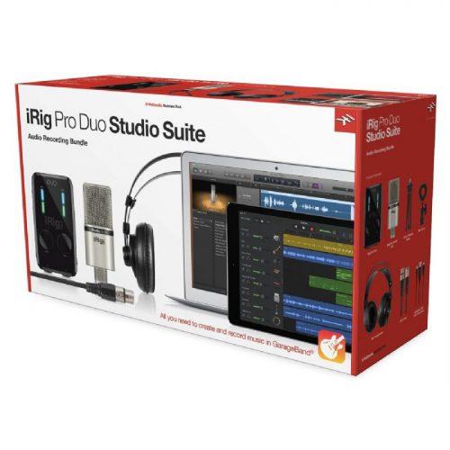 ערכת אולפן IK Multimedia iRig Pro Duo Studio Suite Deluxe
