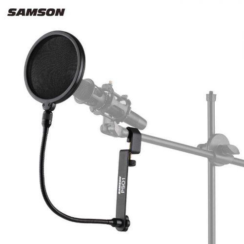 מגן רוח למיקרופון Samson PS01 Pop Filter