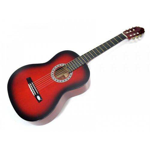 גיטרה קלאסית בצבע אדום Armando