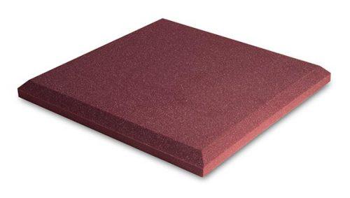 ספוג אקוסטי אדום שטוח EZ Foam Flat מבית EZ Acoustics