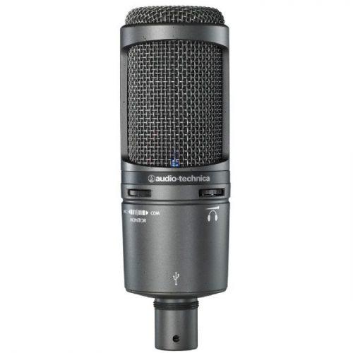 מיקרופון קונדנסר אולפני Audio Technica AT2020USB Plus