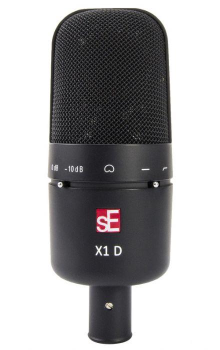 מיקרופון קונדנסר לתוף באס sE Electronics X1D