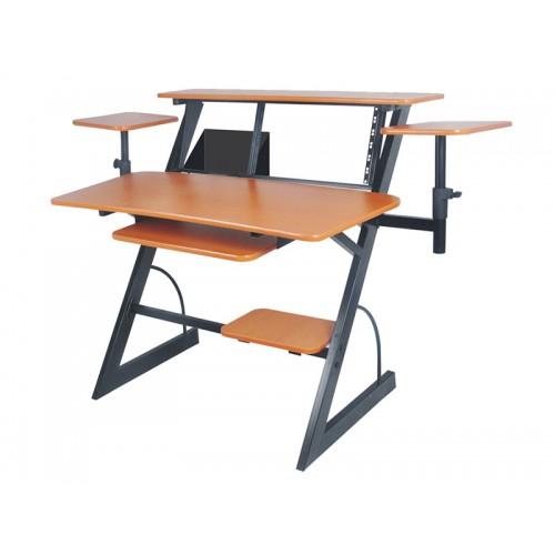 שולחן עבודה לאולפן עם מעמדים למוניטורים Apextone